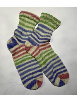 Notorious RBG Light, Superwash Merino Wool, Bamboo and Nylon, Ankle Sock