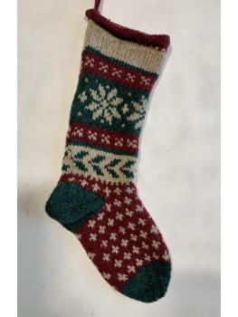 Holly or Snowflake, Christmas Stocking