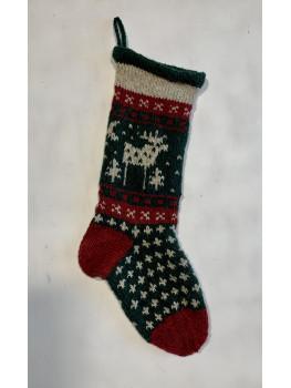 Moose or Reindeer Christmas Stocking