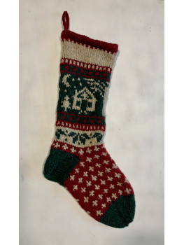 Cabin or Home, Christmas Stocking