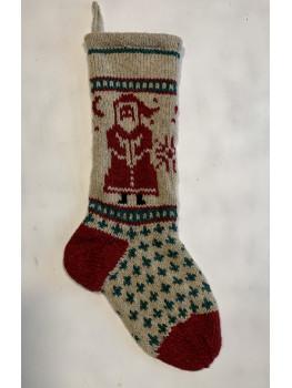 Santa, Christmas Stocking