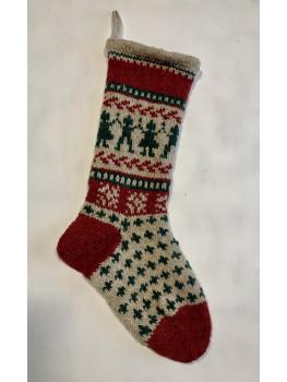 Kids Holding Hands, Christmas Stocking