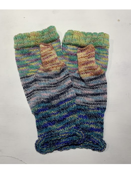 Just A Lot Of Fun, Superwash Wool, Nylon, Soy Silk, Gloves