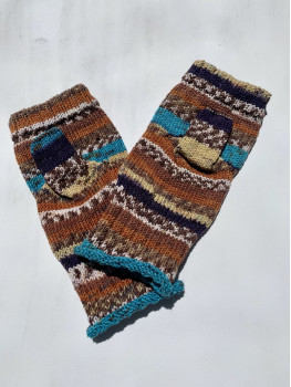 Middle Earth, No Wool, Fingerless Glove