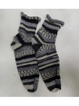 Raccoon, Superwash and Nylon, Ankle Sock