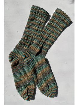 Bog Stomp, Superwash Wool and Nylon, Cuff Length Sock