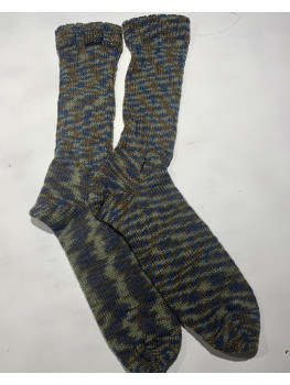 Glen of Ferns, 100 Percent Wool, Cuff Length Sock
