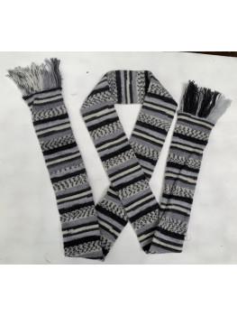 Raccoon, Superwash Wool and Nylon, Scarf