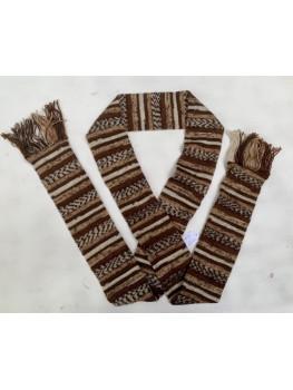 Hot Chocolate, Superwash Wool and Nylon, Scarf