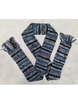 Blue Jean, No Wool, Acrylic, Scarf