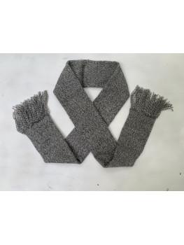 Northern Pike, Superwash Wool and Nylon, Scarf