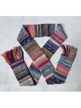 Just A Lot Of Fun, Superwash Wool and Nylon, Scarf