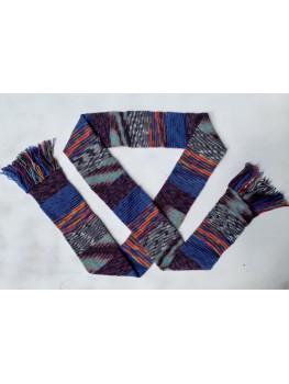 Grandma's Patchwork, Superwash Wool and Nylon, Scarf