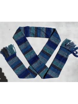 Ocean Waves, Superwash Wool and Nylon, Scarf
