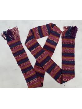 Pink Carosel, Superwash Wool and Nylon, Scarf