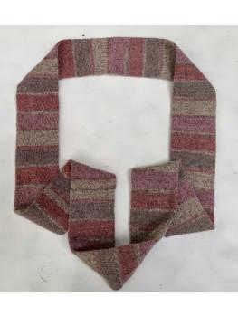 Sunset Pink, Superwash Wool and Nylon, Infinity Scarf
