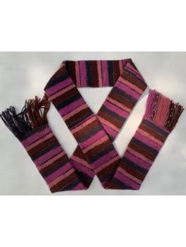 Mulberry, Superwash Wool and Nylon, Scarf