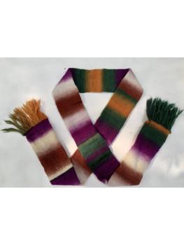 Autumn Harvest, 100 Percent Wool, Scarf