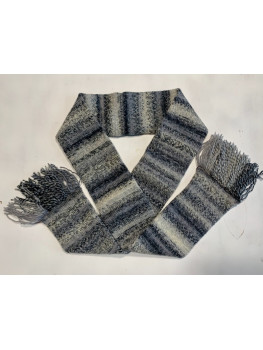 Jack Frost, Superwash Wool and Nylon, Scarf