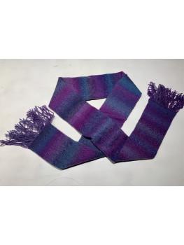 Polar Lights, Superwash Wool and Nylon, Scarf