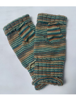 Bog Stomp, Superwash Wool and Nylon, Fingerless Glove
