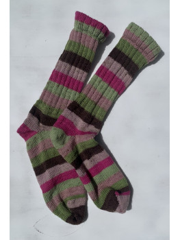 Australian Outback, Superwash Wool and Nylon Cuff Length Socks