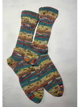 Arizona, Superwash and Wool, Cuff Length Sock