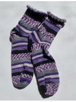 Arctic Cat, Superwash Wool and Nylon, Ankle Sock