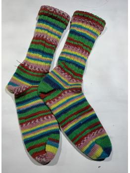 County Fair, Superwash Wool and Nylon, Cuff Length Sock